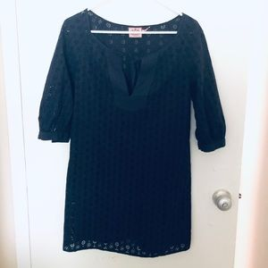 Juicy couture Navy Paisley dress